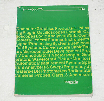 Tektronix Katalog 1982: 7000-Series, SC502, 7854, 7104, etc.