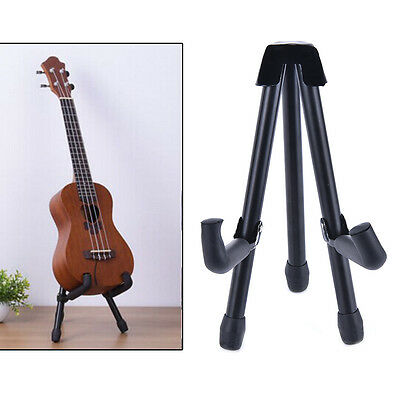 1pc Folding Electric Acoustic Bass Guitar Stand A Frame Floor Rack Holder WC