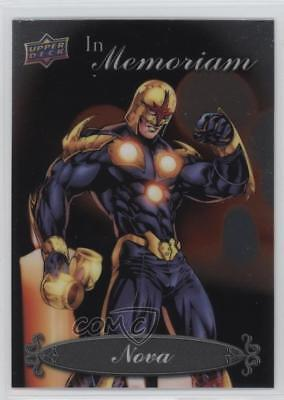 2015 Upper Deck Marvel Vibranium In Memoriam #IM-18 Nova Non-Sports Card 2f4