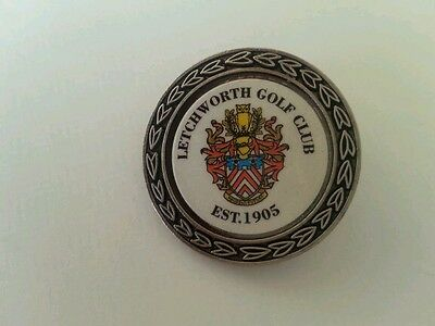 Letchworth Golf Club Ball Marker