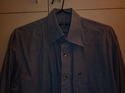Vintage Daniel Hechter Cotton Ls Shirt Size 38 Excellent Condition