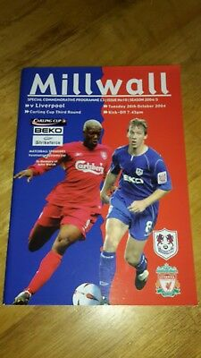Millwall V Liverpool Carling Cup 2004-05