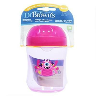 Baby Feeding Dr. Browns 9 Ounce Soft Spout Training Sippy Cup (Girl) Easy To Ass