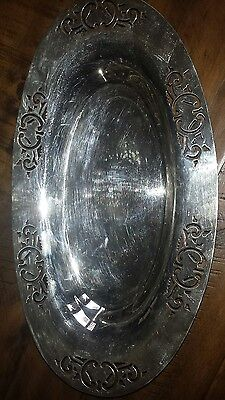 Antique William Rogers  EPNS Serving DISH Tray