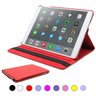 Funda Smart Cover Soporte PU Microfibra para iPad Air 1 A1474/ Air 2 A1566