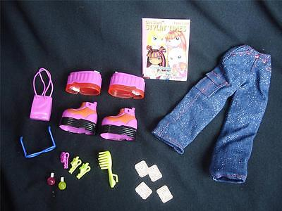 Diva Starz Doll Stars Fashionz Shoes Stackerz Secret Message Accessories EUC