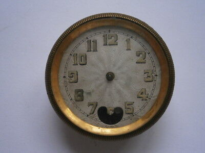 Vintage small clock NO NAME mechanical watch spares or repair swiss made