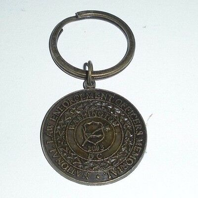 National Law Enforcement Officers Memorial,Washington,D.C. ,Keychain (Police)