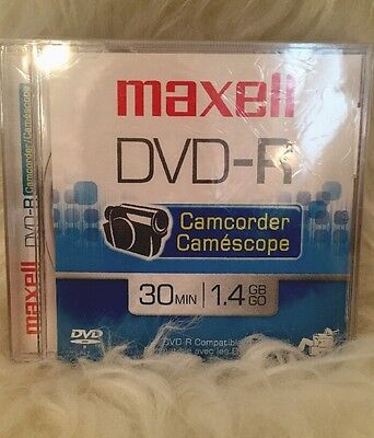 Maxell DVD-R Camcorder Discs 30 min (3 pack)