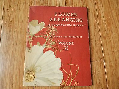 1941 COCA COLA Flower Arranging A Fascinating Hobby BURROUGHS Booklet Vol 2
