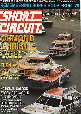 Short Circuit Magazine. Stock Cars. Hot Rods. Bangers. August1996