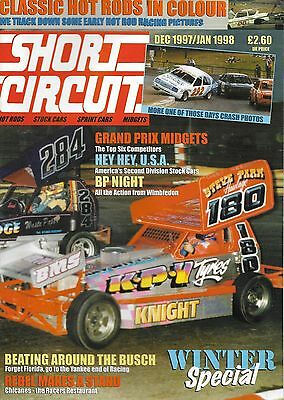 Short Circuit Magazine.Stock Cars. Hot Rods. Bangers. December 1997/January 1998