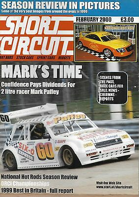 Short Circuit Magazine. Stock Cars. Hot Rods. Bangers. February 2000