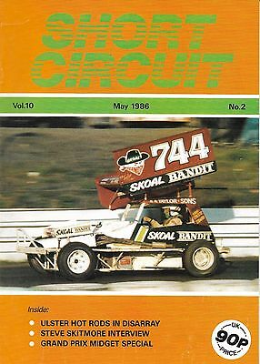 Short Circuit Magazine. Stock Cars. Hot Rods. Bangers. May 1986