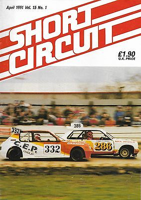 Short Circuit Magazine. Stock Cars. Hot Rods. Bangers. April 1991