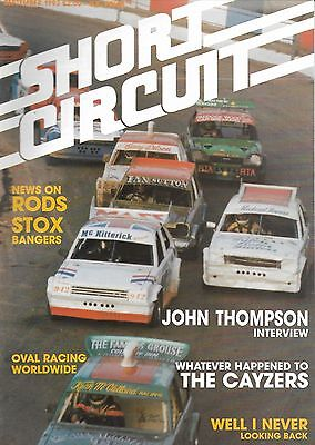 Short Circuit Magazine. Stock Cars. Hot Rods. Bangers. September 1993
