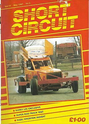 Short Circuit Magazine. Stock Cars. Hot Rods. Bangers. May 1987