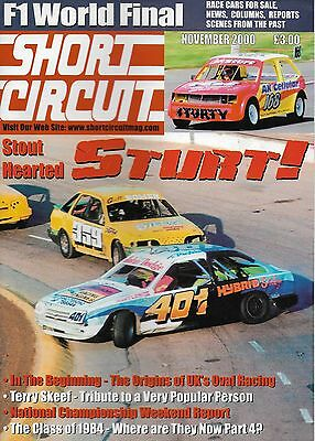 Short Circuit Magazine. Stock Cars. Hot Rods. Bangers. November 2000