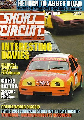 Short Circuit Magazine. Stock Cars. Hot Rods. Bangers. May 1998