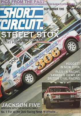 Short Circuit Magazine. Stock Cars. Hot Rods. Bangers. September 1995