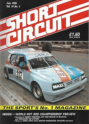 Short Circuit Magazine. Stock Cars. Hot Rods. Bangers. July 1990