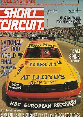 Short Circuit Magazine. Stock Cars. Hot Rods. Bangers. July 1995