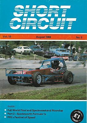 Short Circuit Magazine. Stock Cars. Hot Rods. Bangers. August 1986
