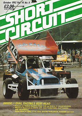 Short Circuit Magazine. Stock Cars. Hot Rods. Bangers. October 1992