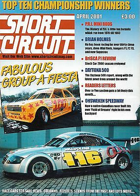 Short Circuit Magazine. Stock Cars. Hot Rods. Bangers. April 2001
