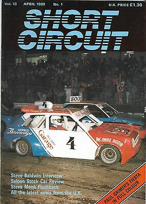 Short Circuit Magazine. Stock Cars. Hot Rods. Bangers. April 1989