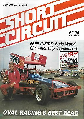 Short Circuit Magazine. Stock Cars. Hot Rods. Bangers. July 1991