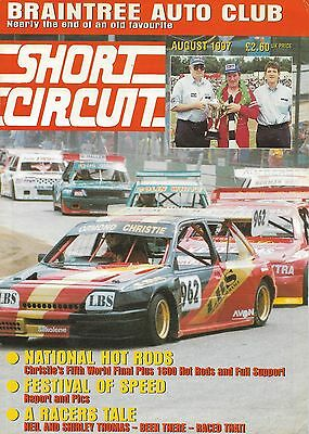 Short Circuit Magazine. Stock Cars. Hot Rods. Bangers.  August 1997