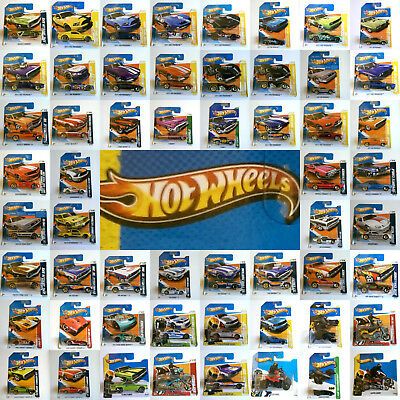 Mattel Hot Wheels 2011/2012/2013 Editions Wide Choice of Cars All Still Sealed