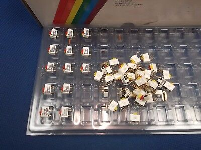 DIL Slide Switch 2 Gang DIP SPDT C/O Dual Right Angle SCS2-015 ERG ITW x1pc ONO