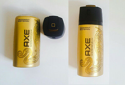 Stash Diversion Safe Gold Can Axe Deodorant With Secret Storage Compartment