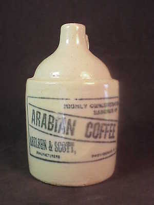 Arabian Coffee Providence Rhode Island Miniature Whiskey Jug