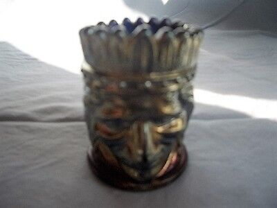 St. Clair Art Glass 1971 Indian Head Toothpick