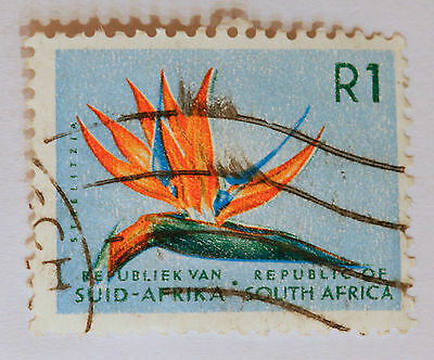 South African Stamp - 1973 Strelitzia