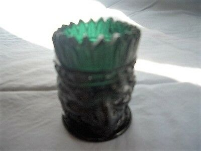 St. Clair Art Glass 1973 Madison Co. Sesquicentennial Indian Head Toothpick
