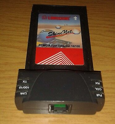 Longshine PCMCIA Fast Ethernet Fast Ethernet 10/100