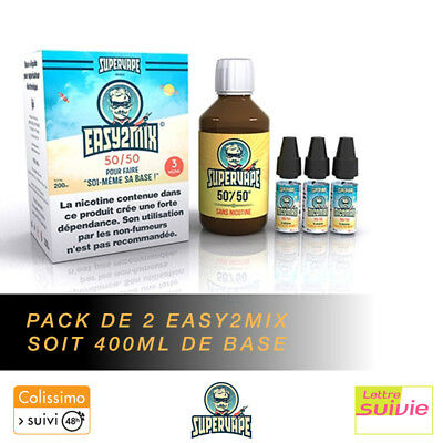 Pack de 2 Base Supervape 400ml