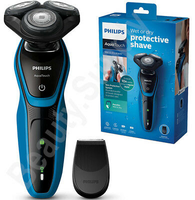 Philips AquaTouch Cord/Corldess Wet & Dry Electric Shaver/Trimmer S5050