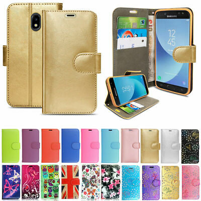 New Samsung Galaxy J5 2017 -  (J530F) Book Wallet Flip Leather Phone Case Cover