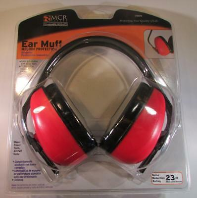 NEW MCR Safety Medium Protection Industrial Ear Muff Noise Reduction Lightweight