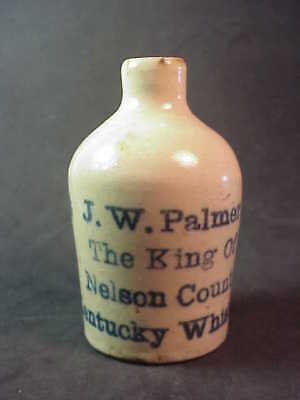 Palmer - King of Nelson County Kentucky Whiskey - Miniature Whiskey Jug
