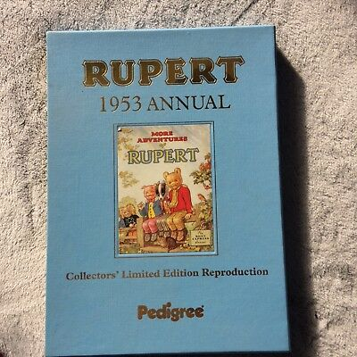 RUPERT 1953 ANNUAL, Collectors Limited Edition