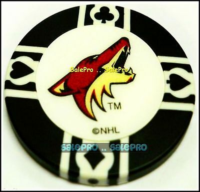 Phoenix Coyotes Nhl Hockey Rare Licensed Collectible Poker Game Chip