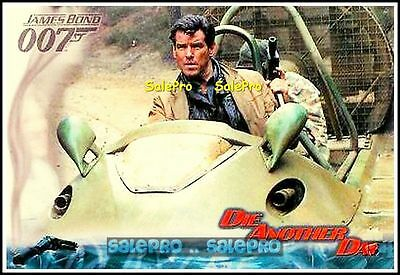 2002 James Bond 007 Die Another Day Movie Mint Sample Promo Card #p1