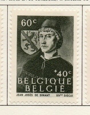 Belgium 1944 Early Issue Fine Mint Hinged 60c. 173807