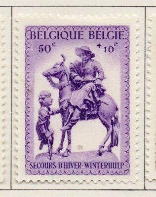 Belgium 1941 Early Issue Fine Mint Hinged 50c. 173840